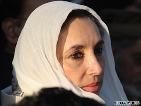 Former Pakistan Prime Minister Benazir Bhutto was assassinated in December 2007 at a campaign rally.