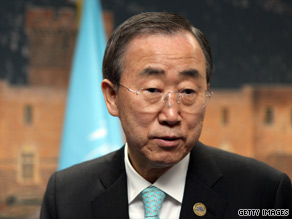 U.N. Secretary-General Ban Ki-moon has called for the release of pro-democracy leader Aung San Suu Kyi.