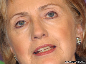 Hillary Clinton says N. Korea's refusal to discuss nuclear program could provoke arms race.