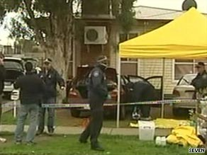Some 400 federal police officers took part in the pre-dawn raids in Melbourne.
