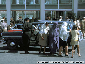 As recently as the 1970s, Afghan women could be seen wearing miniskirts in Kabul.