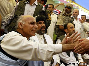 Ashraf Ghani is among six candidates alelging widespread voter fraud.