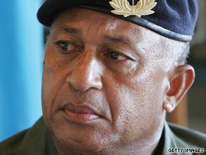 Commodore Frank Bainimarama seized power in Fiji in a 2006 coup.