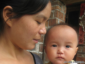 Xiao Junmei spent more than 20 days in hospital recovering from severe lead poisoning.
