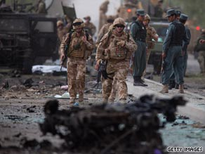 A recent car bomb targeting allied troops killed six Italian soldiers in Kabul.