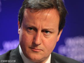 British Conservative party leader David Cameron has expressed his dismay over the case.