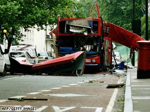 Muslim extremists killed 52 people in bomb attacks in London in July 2005.