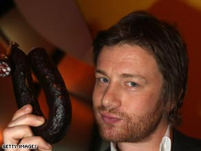 Jamie Oliver is devising the menu leaders will eat at the first night of the G-20  meeting in London.