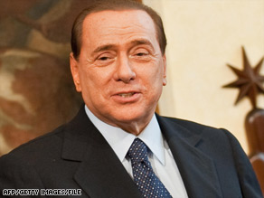 Italian Prime Minister Silvio Berlusconi said it was too soon to tell how many detainees his country may accept.
