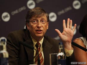 Bill Gates Thursday said industrialized nations need to do more to help developing countries.