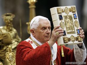 Pope Benedict XVI says scientific data helps prove discovered bones belonged to apostle St. Paul.