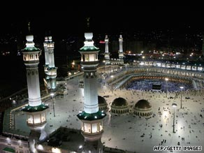 The TV show offers converts to Islam the chance to visit Mecca.