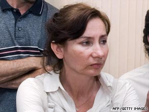 Estemirova, pictured in 2007, had been openly critical of Chechnya's president, Ramzan Kadyrov.