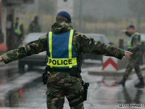 The U.S. military's Ramstein Air Base is believed to be one of the targets for plotters.