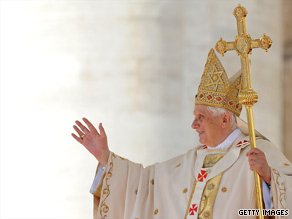 Pope Benedict XVI canonized five new saints Sunday in a Mass at St. Peters Basilica in Vatican City.
