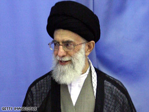 The blogger had been jailed for allegedly insulting Ayatollah Ali Khamenei in an internet posting.