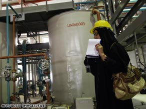 Iranian journalists toured the nuclear facility in February.