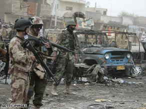 Dozens of Iraqis were killed Wednesday after a series of car bombings in Baghdad.