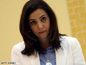 Rola Dashti is one of four women who won parliamentary seats in the recent elections in Kuwait.