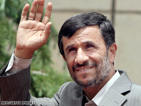 President Ahmadinejad's challengers are using new technology to spread their message.