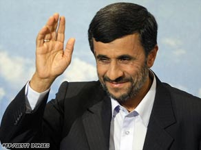 President Mahmoud Ahmadinejad was not present at the time of the attack.