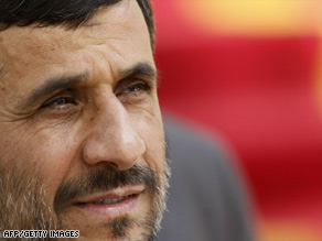 Mahmoud Ahmadinejad will hold a victory rally Saturday after winning Iran's presidential election.