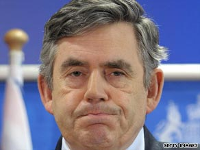 Gordon Brown has urged Iran to respect its people's basic human rights.