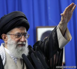 Iran's supreme leader defends election