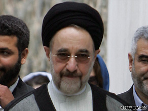Ex-President Mohammad Khatami reportedly says those detained in election protests should be freed.