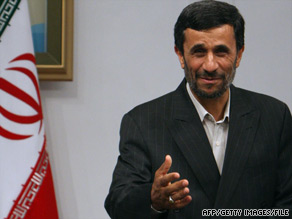 Iranian President Mahmoud Ahmadinejad's re-election last month sparked global protests and unrest in Iran.