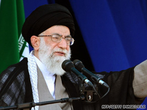 Ayatollah Ali Khamenei accused the West on Monday of meddling in Iran's affairs.