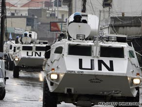 The army claims suspects planned to create cells to monitor and attack UNIFIL troops, among other things.