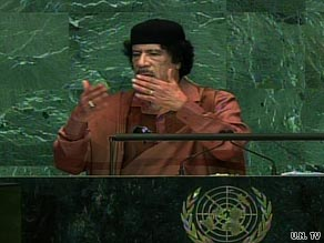 Yusra Tekbali says Libya shouldn't be judged on the basis of  Gadhafi's rambling speech to the General Assembly.