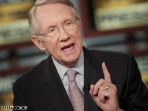Sen. Reid said Sunday that he believes the Senate has the ultimate authority to decide who fills President-elect Obama's vacant seat.