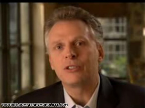 Terry McAuliffe, a longtime aide to the Clintons, made an announcement about his own political future in an online video released Saturday evening.