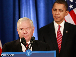 The Obama national security team, including Defense Secretary Robert Gates, is meeting Monday.