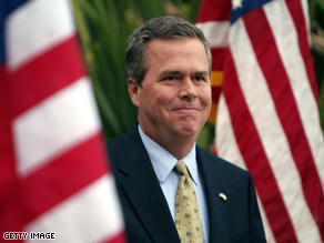 Former Florida Gov. Jeb Bush is part of the effort, led by House Minority Whip Eric Cantor, to re-brand the GOP.