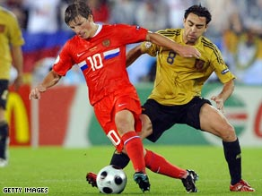 Manchester City may move into a bidding war with Arsenal for Russia playmaker Andrei Arshavin.