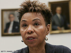 CBC Chairwoman Barbara Lee told reporters the caucus will put out a statement informing the Senate of their decision to support Roland Burris.