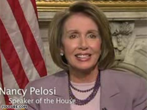 Speaker Pelosi and other congressional leaders released a video this week announcing official hubs for online congressional video on YouTube.