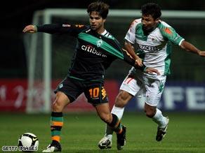 Werder Bremen's Brazilian, Diego, left, is attracting interest at Juventus.