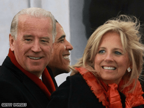 The Bidens appeared on The Oprah Winfrey Show Monday.