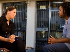 Soledad O'Brien reporting for 'Black In America'