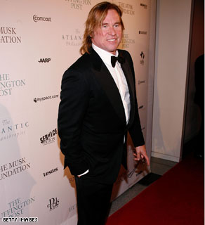 Actor Val Kilmer attends the Post Pre-Inaugural Ball hosted by The Huffington Post and MySpace at The Newseum on January 19, 2009 in Washington, DC.