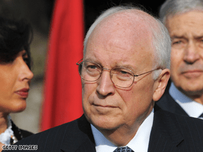 Cheney's popularity has risen in recent weeks.