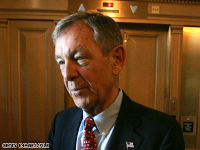 Ohio Republican Sen. George Voinovich is not running for re-election.