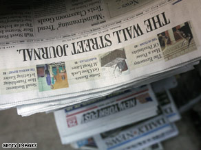 How important is saving America's newspapers?