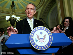 Nearly a day after Senate Majority Leader Harry Reid, D-Nevada, announced a $789 billion-dollar final economic stimulus deal, congressmen still had not seen a printed bill, or even a written summary of the legislation.