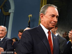 Bloomberg has a clear lead in the New York City's mayoral race.