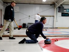 Gary Tuchman learns about curling and the economy in Fargo, North Dakota.